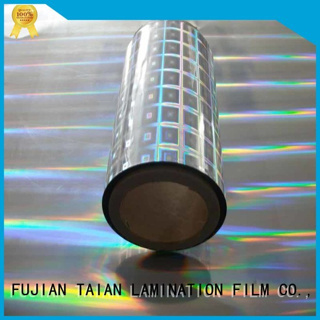 Taian Lamination Film holographic paper factory price for digital printing
