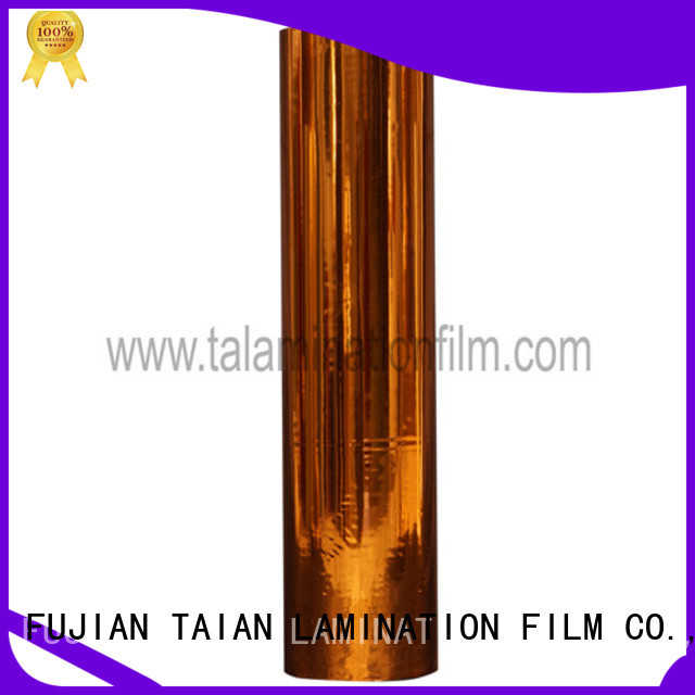 durable metalized film factory for magazines