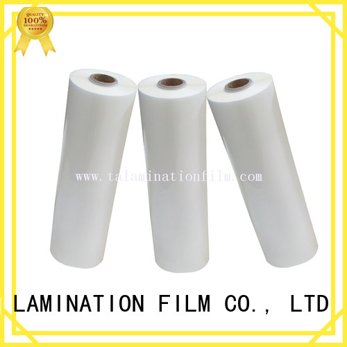Taian Lamination Film good quality transparent foil directly sale for boxes