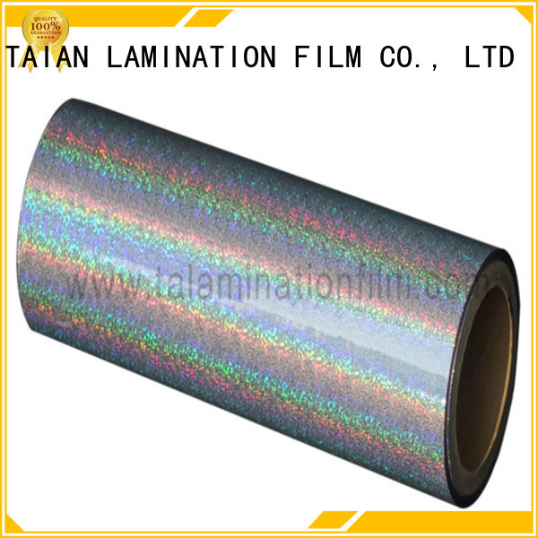 top quality holographic foil factory price for medicine