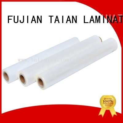 Taian Lamination Film professional bopp film prices supplier for advertisements