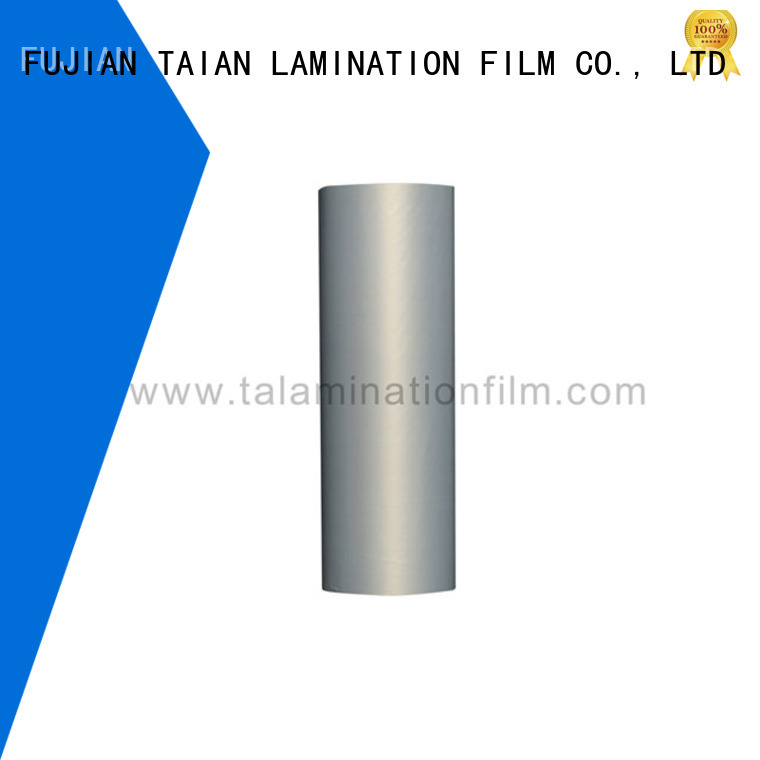 Taian Lamination Film hot selling metalized polyester factory for maps