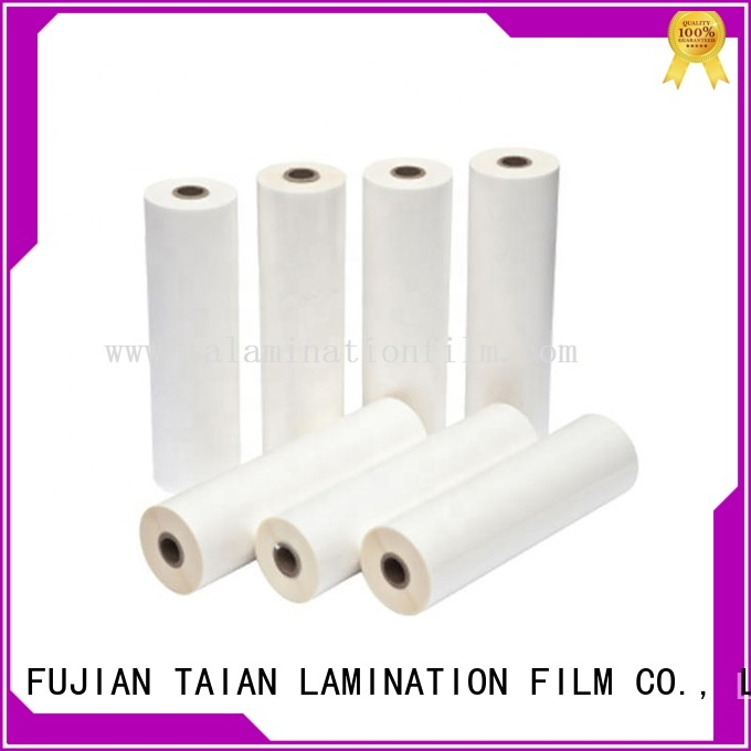Taian Lamination Film long lasting metalized bopp film factory price for cosmetics