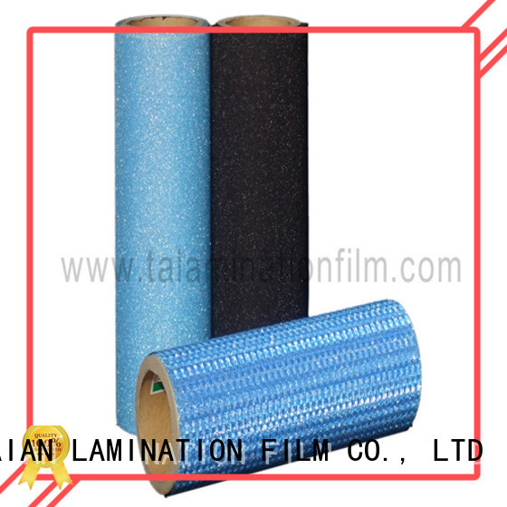 Taian Lamination Film glitter heat transfer vinyl wholesale for medicine
