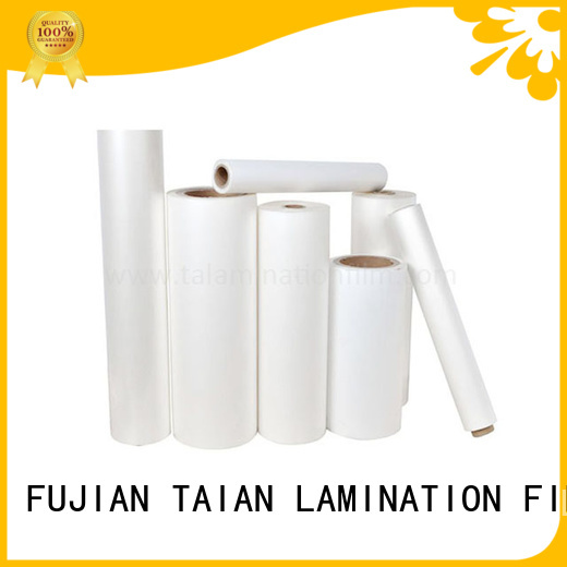 Taian Lamination Film hot sale film pet on sale for boxes